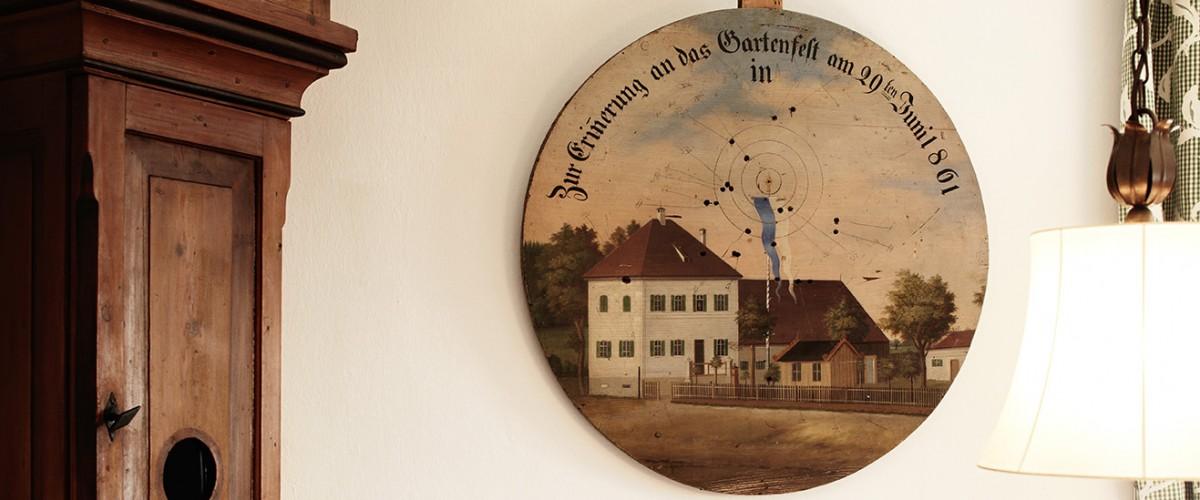 Schützenscheibe Hotel Burgmeier Dachau